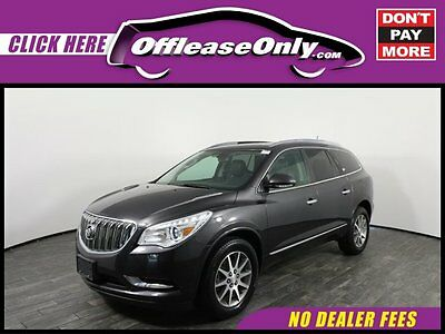 2014 Buick Enclave Leather AWD Off Lease Only Cyber Gray Metallic 2014 BuickEnclaveLeather AWD with 27714 Miles