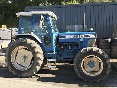 Ford 7910 Series 2 4wd Tractor