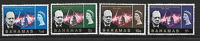 Bahamas Sg267/70 1966 Churchill Mnh