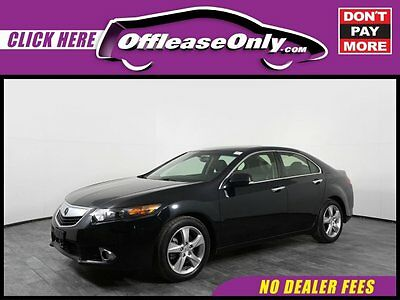 2014 Acura TSX FWD Off Lease Only Crystal Black Pearl 2014 AcuraTSXFWD with 35204 Miles