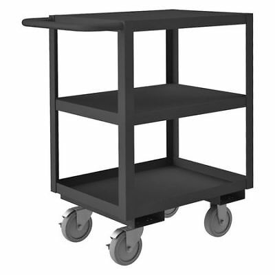 Welded Utility Cart,1200 lb.,Steel Durham MFG RSC-182435-3-BLU-95