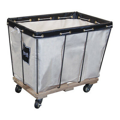 Removable Liner Truck, 16 bu, canvas ROYAL BASKET TRUCK G16-CCX-RVA-3UNN