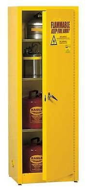 EAGLE 4610 Flammable Safety Cabinet,48 Gal.,Yellow G9813955