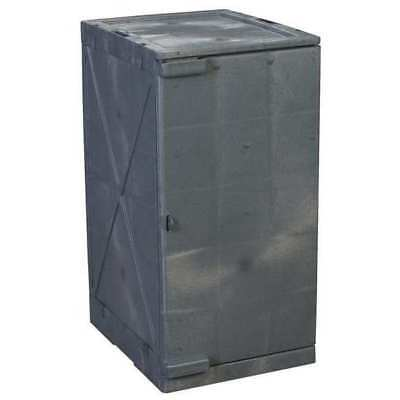 Storage Cabinet,36 in. Height,Gray