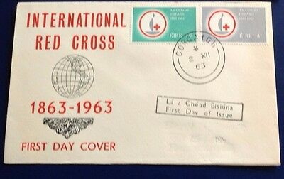 Ireland Red Cross 1963 First Day Cover