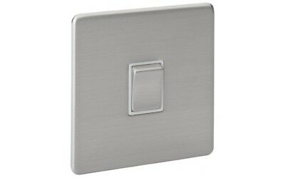 Power Lectrik Screwless Magnetic Stainless Steel 20A Switch