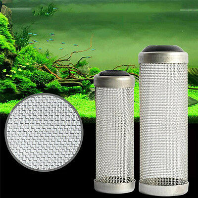 12/16mm Inflow Inlet Basket Filter Filter Mesh Shrimp Protect Stainless Steel