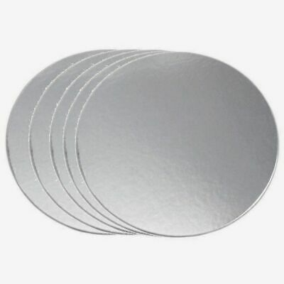 Round Cake Boards Board Cardboard Set of 5 or Single 6,7,8,9 inch Std Base Card