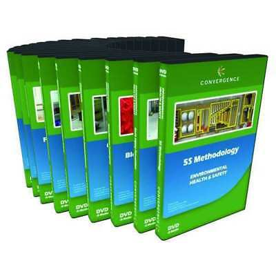 CONVERGENCE TRAINING C-071 Manufacturing Safety,24 DVD Combo G3891189