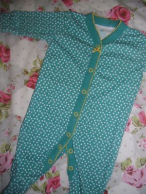 NEXT Pretty Polka Dot Baby Grow  * Up to 1 Month * VGC * £1.99