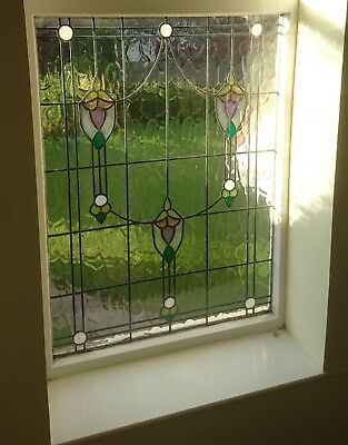 stained glass, leaded, coloured
