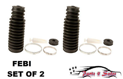 NEW BMW E46 E85 E86 Z4 Steering Rack Boot Kit Set Febi 32 13 1 096 910 SET Of 2
