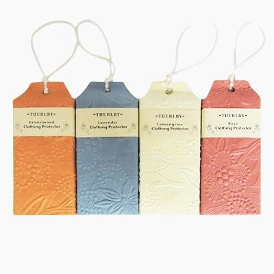 Thurlby Embossed Clothing Protectors - Lavender, Lemongrass, Sandalwood, Rose.