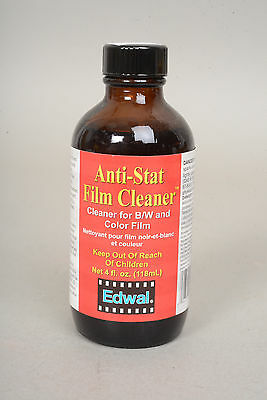 Edwal Anti-Stat Film Cleaner- 4 oz. size
