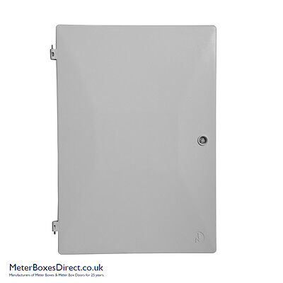 UK Standard Recessed and Surface Mounted Electric Meter Box Door (549 x 383mm)