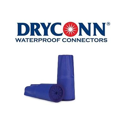 DryConn 10999 8 Pack Dark Blue Waterproof Connector Silicone King Innovation
