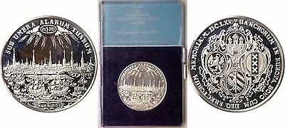1973 Germany Hamburger Bankportugalesers von 1665 Silver Medal 50mm Boxed