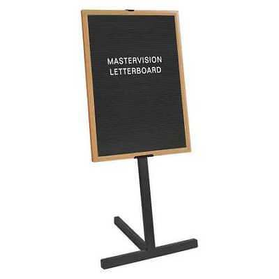 """MASTERVISION SUP0801 Letter Board Stand 24x36"""" Beech, Wood Frame"""