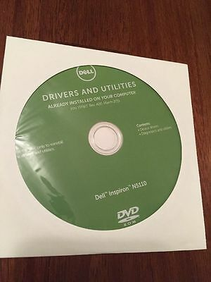 DELL INSPIRON N5110 Drivers and Utilities Disc 02579V UNOPENED Plus Setup  Guide