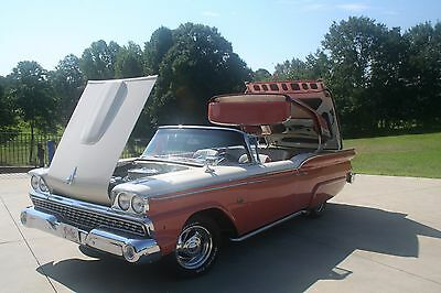 1959 Ford Fairlane  1959 Ford Skyliner Fairlane Convertible Custom Classic Show Car