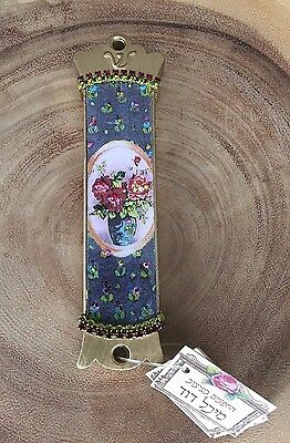 *NEW* Mezuzah, hand made with crystals, Judaica gift, housewarming gift, Israeli