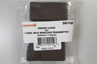 Honeywell Brown Cases for Model 5816 Wireless Transmitter (3 pieces) BRAND NEW