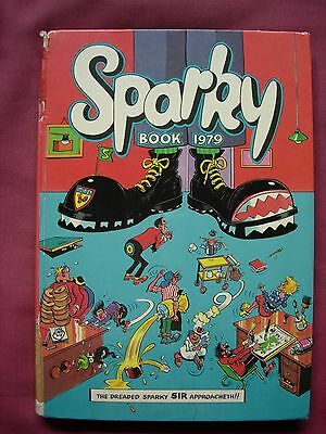 Sparky Book Annual 1979 Unclipped D.C. Thomson GD/VGC