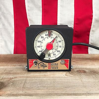 Simmon Omega Audible Repeating Timer Darkroom Timer with Glow-in-the-Dark Face