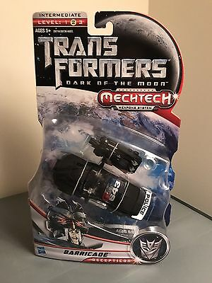 Transformers Dark of the moon DOTM deluxe barricade Lot