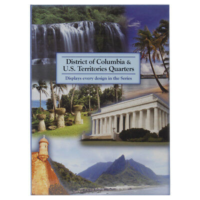 U.S. Territory & D.C. Quarter Color Folder LCF41