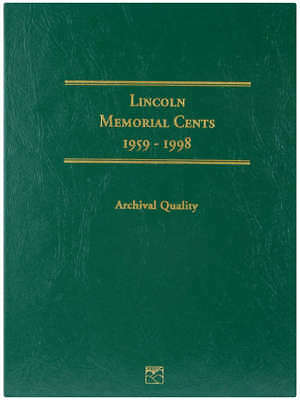 Lincoln Memorial Cent Folder 1959 1998 LCF1