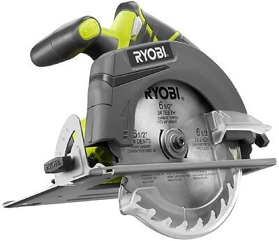 Ryobi 18V ONE+ 6-1/2 in. Cordless Circular Saw (Tool Only) Ultra Fast Clean Cuts