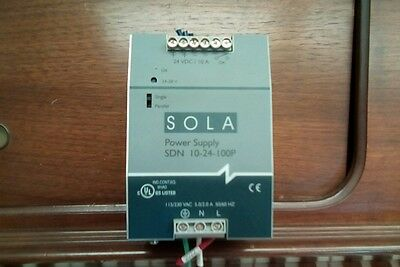 Sola Sdn 10-24-100P Power Supply 115/230V 5.0/2.0A 50/60Hz
