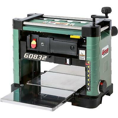"G0832 Grizzly 13"" Benchtop Planer with Built-In Dust Collection"