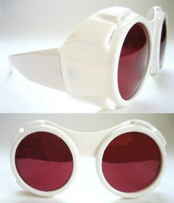 Charlie and the Chocolate willly wonka FACTORY White Hyper Vision X-Ray GOGGLES