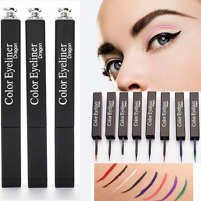 Donna Colore Eyeliner Waterproof Liquid Matite Eye Liner Penna Make Up Cosmetici