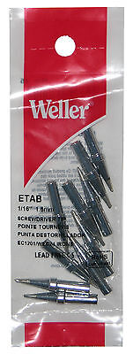 1//16 inch for TC201Iron /& WTCP STATION Weller PTA7 Soldering Screwdriver Tip