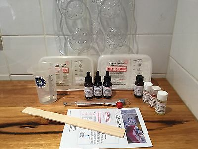 Soap Making Beginners Kit Melt And Pour Base
