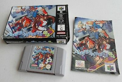 PAL IMPORT Airboarder Nintendo 64 N64 RARE Complete Box Manual Super Fast Ship!