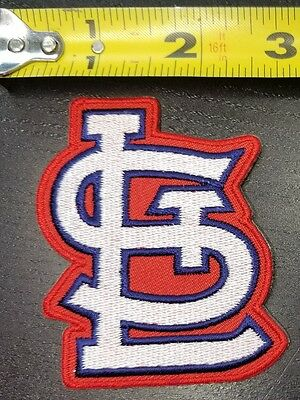 "St. Louis Cardinals aprox. 3"" MLB Iron/Sew On Patch~FREE SHIPPING FROM U.S.~"