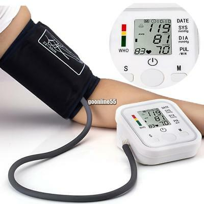 Fully Automatic Digital LCD Arm Blood Pressure Pulse Monitor Health Care EA9