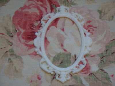 NEW! Ornate Oval Scroll Frame Furniture Applique Architectural Frame