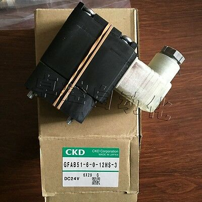 1PC New CKD GFAB51-6-0-12HS-3 Solenoid Valve