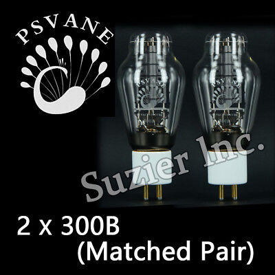 2pcs Matched Pair New Tested 300B Psvane HiFi Series Vacuum Tubes For Tube Amp