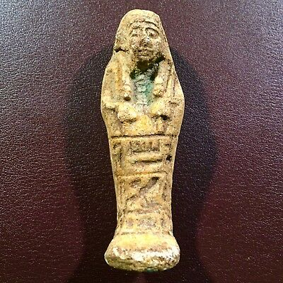 Ancient Egyptian Ushabti Amulet (600-650 BC)