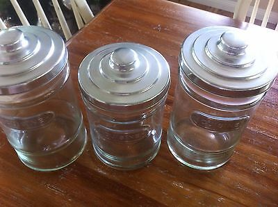 Set of Three Cuisine Kitchen Cannisters