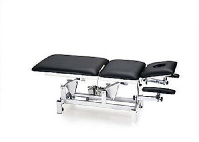 2 Motor Black Occupational Hypnotherapy Chair Lounge Counselling Couch Table Bed