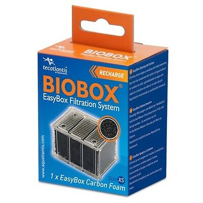 Lot de 2 recharges Biobox tecatlantis EasyBox Carbon Foam Taille XS