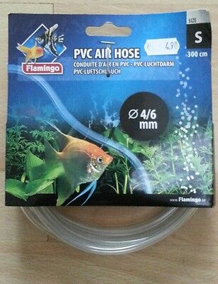 Tuyau d'air en PVC 3m Flamingo 4/6mm