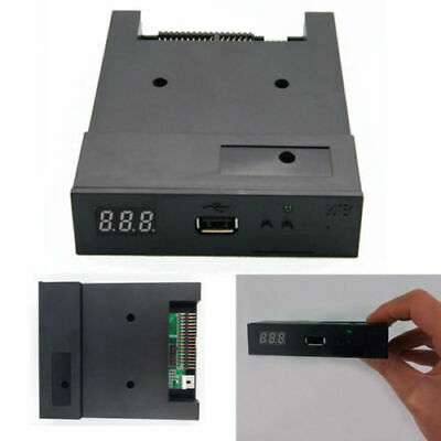 "3.5"" 1.44MB Upgrade Floppy Drive to USB Flash Disk Drive Emulator Black New"